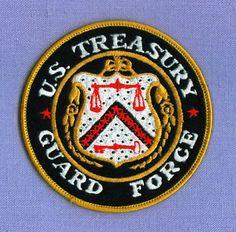 US TREASURY GUARD FORCE • WASHINGTON DC Federal Police Patch