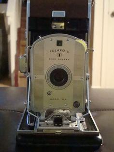 Items similar to Polaroid Land Camera Model on Etsy Polaroid Camera Film, Polaroid Instant Camera, Instax Camera, Fujifilm Instax, Old Cameras, Vintage Cameras, Photography Camera, Vintage Photography, Polaroid Pictures
