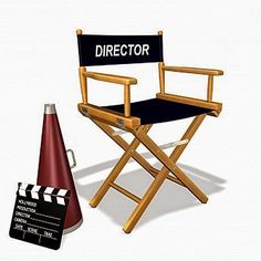 how to become a good film Director Outdoor Chairs, Outdoor Furniture, Outdoor Decor, Film Reels, Folding Chair, Filmmaking, Accent Chairs, How To Become, Drama