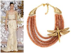 Alexis Mabille, Amber Necklace, Spring 2014, Goddesses, Roman, Style Inspiration, Couture, Animal, Life