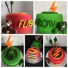 Cake arrow flash Chocolat vanille #BeaCake