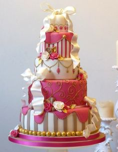 I absolutely love this cake!! I would recommend this cake for a princess party.