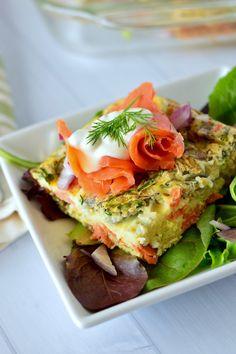 Smoked Salmon Frittata | Real Food with Dana