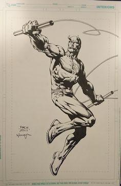Daredevil by David Finch (Часть – 673 фотографии Comic Book Artists, Comic Artist, Comic Books Art, Marvel Drawings, Art Drawings, Superhero Sketches, Daredevil Art, Character Art, Character Design