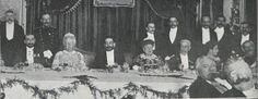 """Banquete ofrecido a la Infanta de Borbón en el """"Club Español"""""""