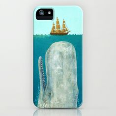 The Whale  iPhone & iPod Case by Terry Fan - $35.00