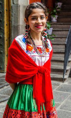Girl in Puebla, Mexico