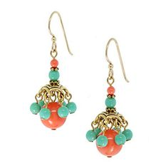 Coral Kiss Earrings | Fusion Beads Inspiration Gallery