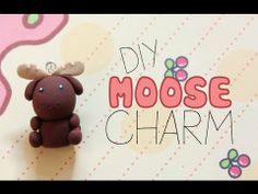 ▶ Polymer Clay Tutorial | Moose Charm - YouTube