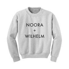 Laget med kjærlighet av folk som elsker SKAM - fordi alle har en Wilhelm og fordi alle er litt Noora. NOORA + WILHELM genseren er unisex og vaskes på 30 graderÅpningstilbud: Tast inn EILITT...