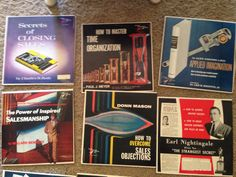 Vintage Business Self Help Records