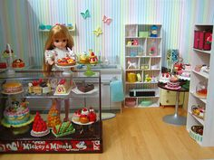 miniature - Re-ment Dreamy Cake Shop | Flickr - Photo Sharing!
