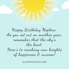 Happy Birthday Friend Images, Birthday Wishes For Nephew, Nephew Birthday Quotes, Birthday Msgs, Happy Birthday Ecard, Birthday Verses, Happy Birthday Wishes Quotes, Happy Birthday Wishes Cards, Birthday Cards For Men