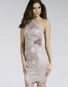 Lipsy One Shoulder Lace Dress