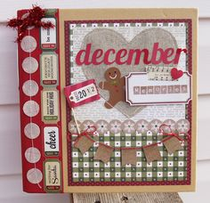 December Daily Simple Stories- Jodi Wilton cute December Daily pages