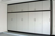 Simple Sleek Garage Cabinet Design                                                                                                                                                                                 More