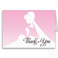 Shop Thank you Bridesmaid Pretty in Pink Wedding Card created by mistyqeweddings. Thank You Greeting Cards, Thank You Greetings, Custom Thank You Cards, Bridesmaid Thank You Cards, Maid Of Honor, Pretty In Pink, Wedding Cards, Aurora Sleeping Beauty, Bridesmaids