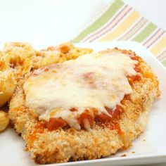 A coworker made this and said it was great. Easy Baked Chicken Parmesan by EvilShenanigans, via Flickr