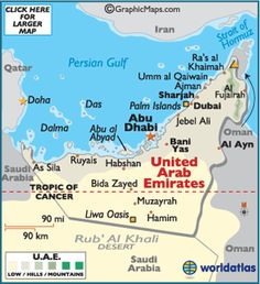map of united arab emirates cities - Google Search