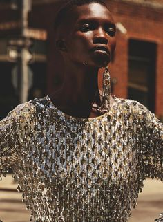 Marie Claire UK September 2016 Achok Majak by David Roemer-5