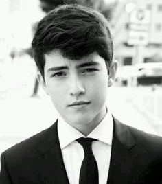 Ian Nelson, he played the young Derek Hale from Teen Wolf and the tribute boy from District 3 in the Hunger Games.