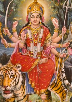 navaratri special durga puja picture collection - Life is Won for Flying (wonfy) Durga Puja, Divine Mother, Durga Goddess, Goddess Art, Shiva Shakti, Sacred Feminine, Hindu Deities, Hindu Art, Indian Gods