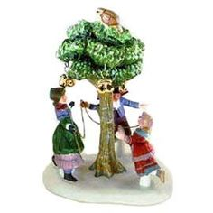 Department 56 Dickens Village A Partridge In A Pear Tree 58351 -- Visit the image link more details. (This is an affiliate link) Department 56 Christmas Village, Dept 56 Dickens Village, Christmas Village Houses, Christmas Gift List, Christmas Crafts To Sell, Holiday Tree, Christmas Ideas, Xmas Tree Decorations, Twelve Days Of Christmas
