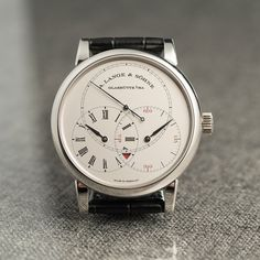A. Lange & Söhne's Richard Lange Jumping Seconds is an unusual and very serious watch. The jumping seconds, or deadbeat seconds, is perhaps the most stealth complication out there – most people would assume the ticking seconds hand is powered by a battery rather than intricate gearing....
