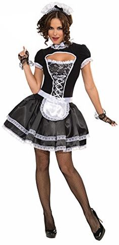 When it comes to Halloween costumes, you won't be disappointed in our sexy french maid uniform costume, which also works as a sexy costume. Find the perfect French maid outfit for you, we even carry a French maid costume in plus sizes. Maid Fancy Dress, French Maid Dress, French Maid Halloween, French Maid Costume, Maid Outfit, Sexy Halloween Costumes, Women Halloween, Halloween Ideas, Cosplay
