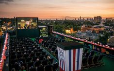 Rooftop Film Club   21 Rooftop Bars In London You Need To Drink At Before You Die