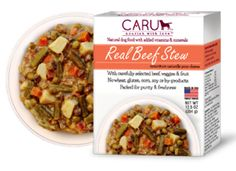 CARU Stew Dinners: Do YOU Caru? Once you learn more about these thick, meaty, responsibly sourced dinners and treats, you and your pup will want to! They're made in small batches with uncommon care to look, smell and taste just like homemade ... except that each recipe has been developed by a PhD animal nutritionist!  #twobostons #caru