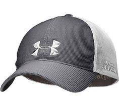Men's Under Armour Golf Spacer Mesh Stretch Fit Cap | Scheels - Size L/XL