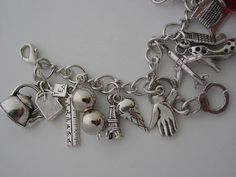 50 Shades of Grey Red Room Charm Bracelet