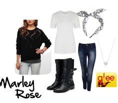 Glee inspired outfits- Marley Rose
