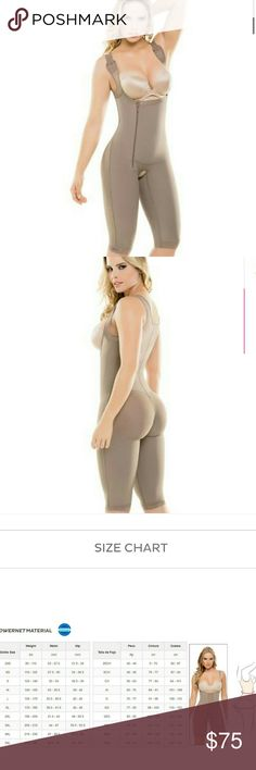438 Fajate Slim tummy tuck control bodysuit shaper Enjoy a perfect fit every time you get dressed! The Slim and Firm Control Bodysuit is the answer to all your body shaping wishes! Compressive design and antibacterial fabric are features that make the bodysuit ideal for post-surgery or postpartum wear, but of course the benefits don?t stop there!  The compression points are placed so that your abdomen, legs, and back, get full support and a slim and smooth look, while your rear is lifted…