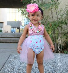 Floral Tutu Romper - Vintage Floral Romper - Smash Cake - 1st Birthday - Second Birthday - Princess - Sparkle - Pink sparkle - Blue Floral