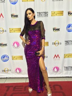 #reginasalpagarova# redcarpet #usa #pattyfarinellicollection #