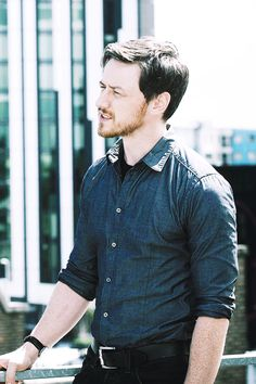James McAvoy. The freckles.