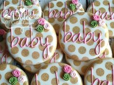 Dolce - Baby Shower Favors
