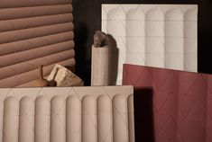 GRT Architects took inspiration from ancient Greek architecture when designing the family of cast concrete tiles for Kaza Concrete.