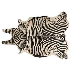 Las alfombras 'animal' pueden ser un complemento genial a tu fiesta temática