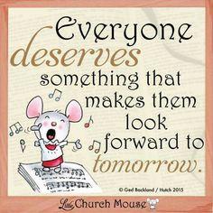 Everyone Little Church Mouse 23 Feb. 2015.