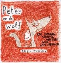 """peter en de wolf het verhaal - """"Oh, kijk, een nieuwe versie van Peter en de wolf!"""" Zo begint het boekje maar ook het verhaal op de bijhorende cd. Het werd een vrolijke, ..."""