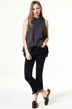Ring The Bell Flare Jeans Discover the latest fashion trends online at storets.com