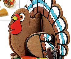 3D Turkey Cookie Centerpiece Kit