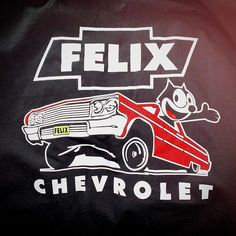 Retro 60/'s Design Felix Chevrolet Women/'s T-Shirt