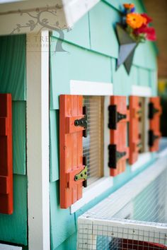 The Chicken Coop – Final » Trevor's Projects. I like the shutters to let in air during those warm months.