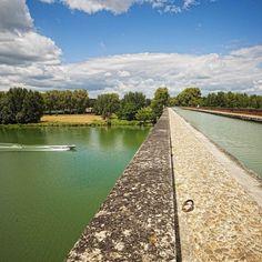 Canal des Deux Mers, pont canal du Cacor - Moissac (Tarn et Garonne)