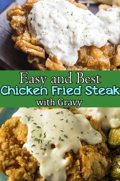 This Chicken Fried Steak is the Classic chicken fried steak served with Gravy. Chicken Fried Steak is an ultimate comfort food. Cube Steak Recipes, Beef Recipes, Chicken Recipes, Cooking Recipes, Cuban Recipes, Beef Meals, Chicken Fried Steak Batter, Fried Chicken, Chicken Tikka Masala