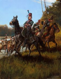 Chef d'Escadron Ordener  French flank force at the battle of Lodi-Keith Rocco